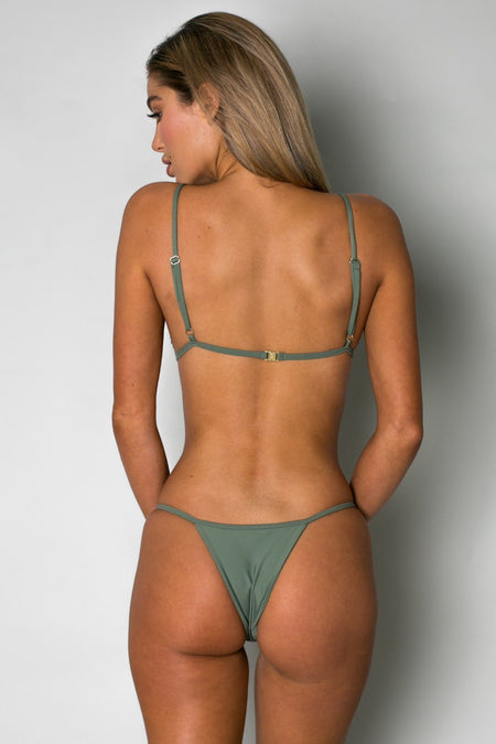 Cantik - Camo Print String Along Bottoms