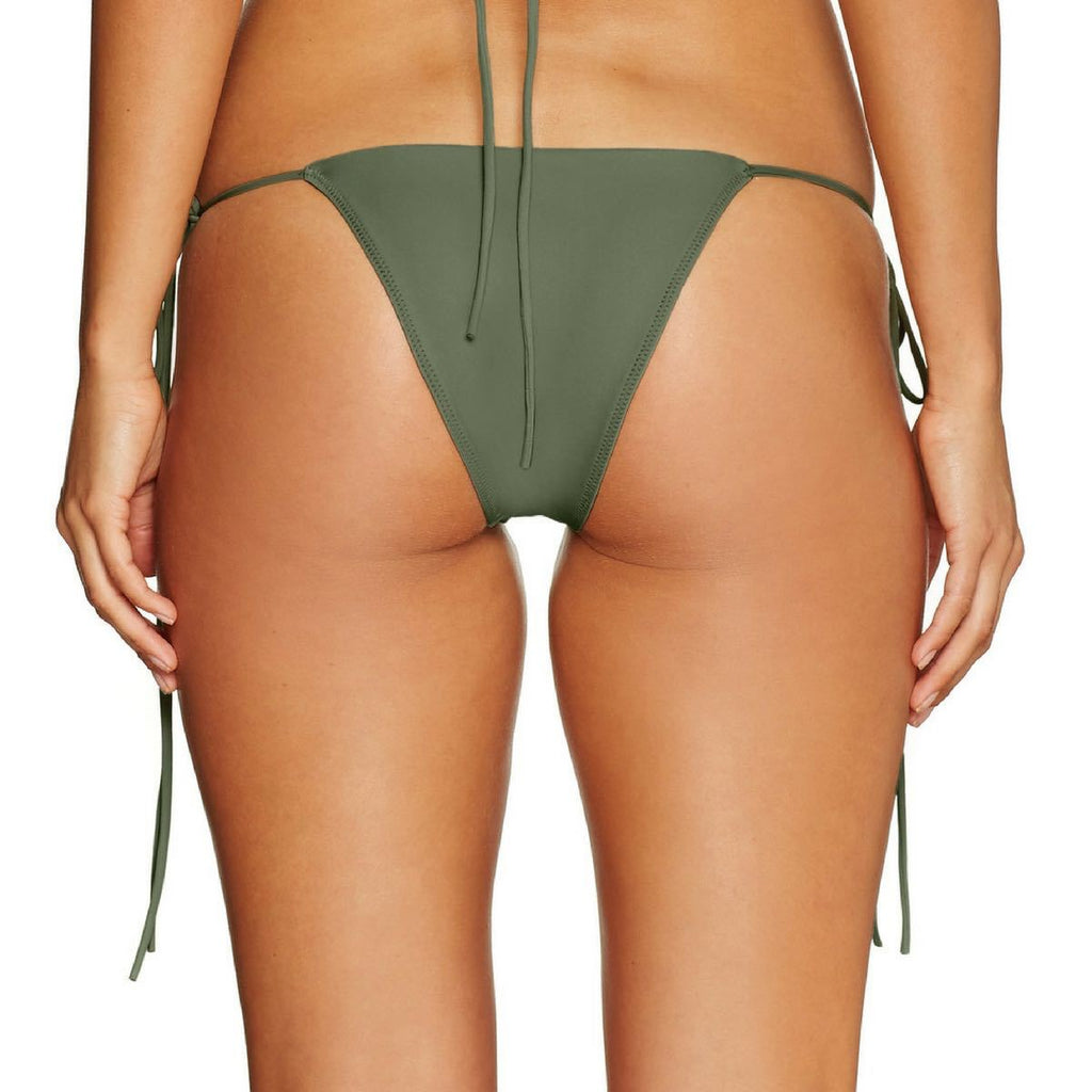 Cantik Swimwear Cantik - Army String Along Bottoms - Nomads Cove