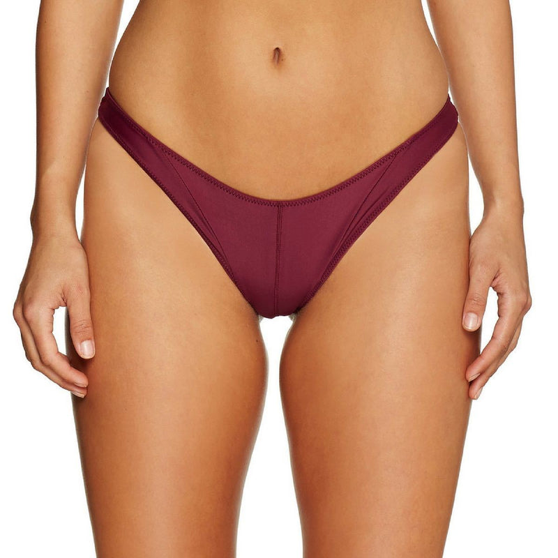 Cantik - Bordeaux Havoc Bottoms-Cantik Swimwear-Nomads Cove