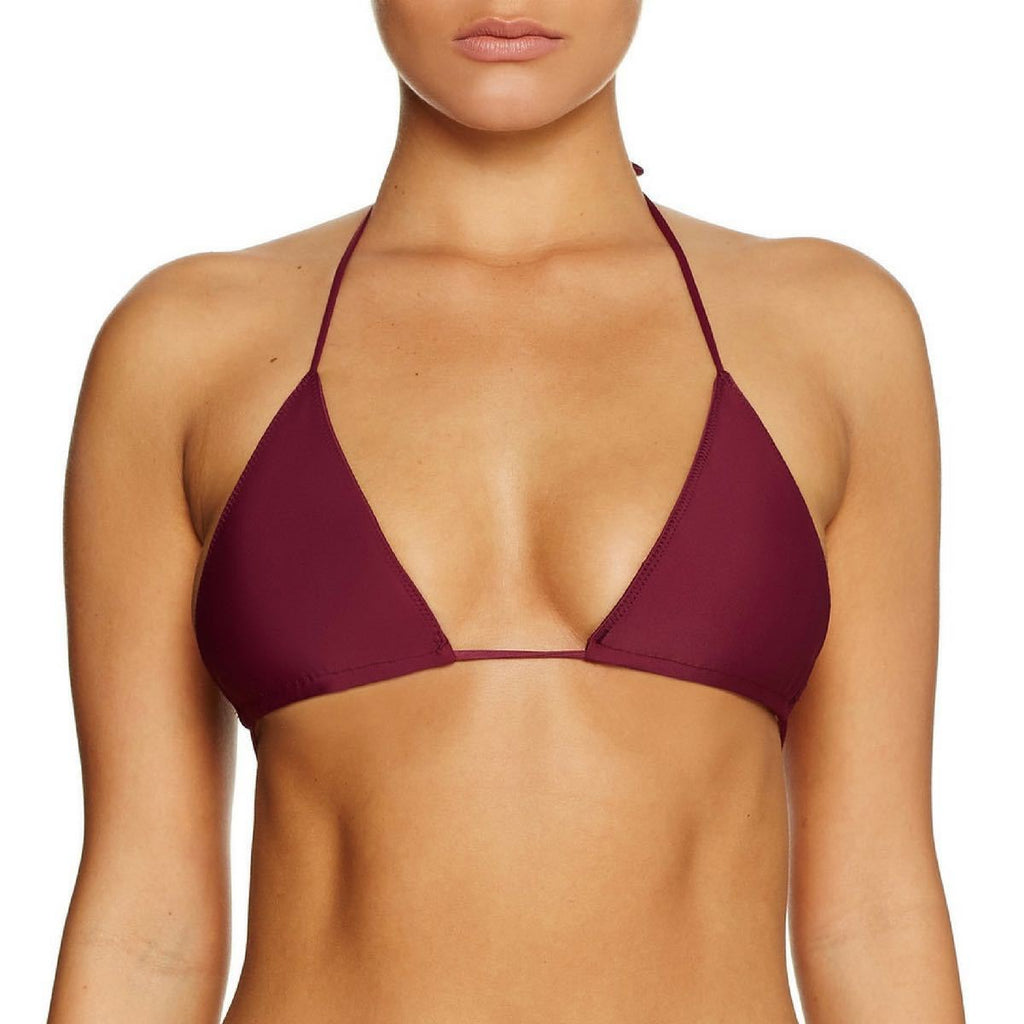 Cantik Swimwear Cantik - Bordeaux String Along Top - Nomads Cove