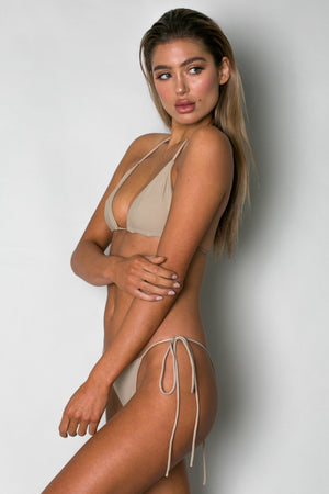 Cantik Swimwear Cantik - Camel String Along Bottoms - Nomads Cove