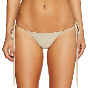 Cantik - Camel String Along Bottoms-Cantik Swimwear-Nomads Cove