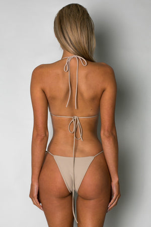 Cantik - Camel String Along Top-Cantik Swimwear-Nomads Cove