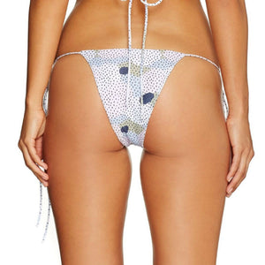 Cantik - Camo Print String Along Bottoms-Cantik Swimwear-Nomads Cove