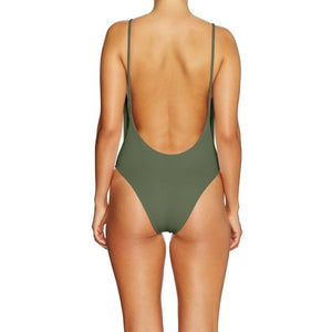 Cantik - One Piece Army Byron-Cantik Swimwear-Nomads Cove