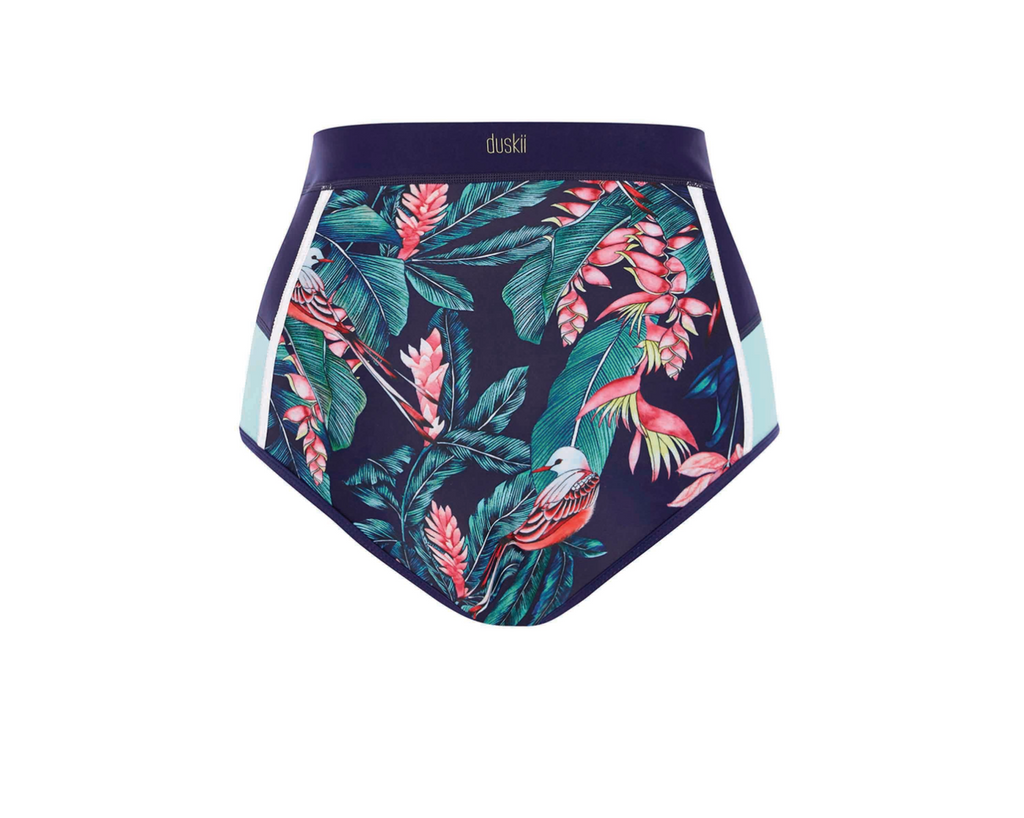Duskii - Haleakala High Waisted Pant | Tropical Print-Duskii-Nomads Cove