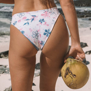 Ete - Bailey Reversible Bottoms in Floral-Ete Swimwear-Nomads Cove