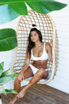 Ete - Malia Top in White Embroidery-Ete Swimwear-Nomads Cove