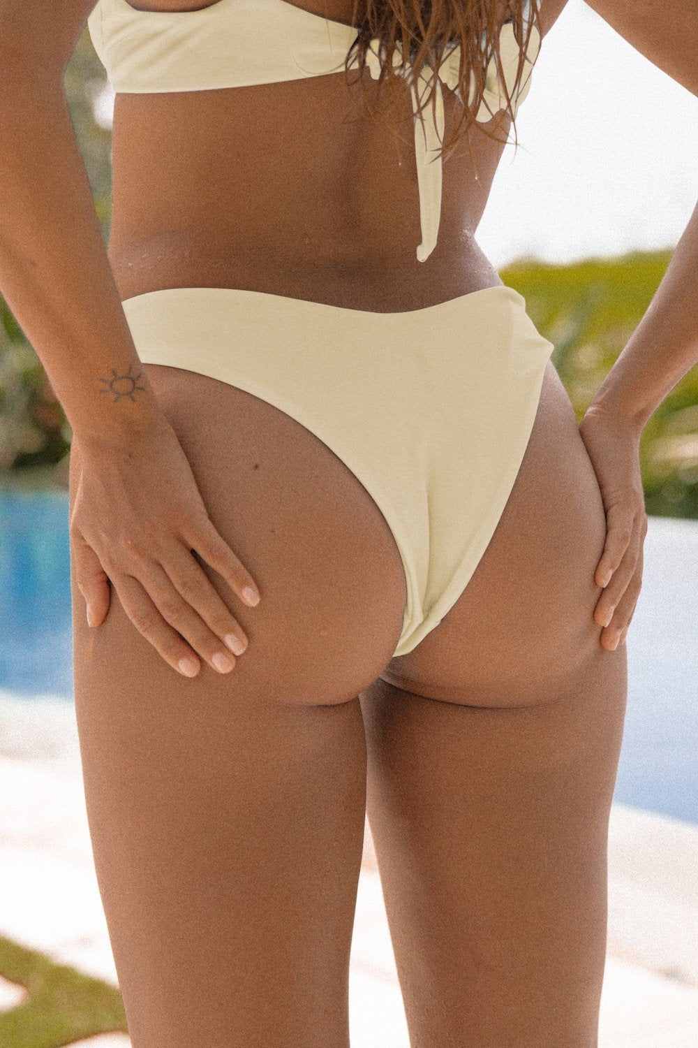 Ete Swimwear Ete X Matilda - Neptune Cheeky Bottoms (Sunset) - Nomads Cove