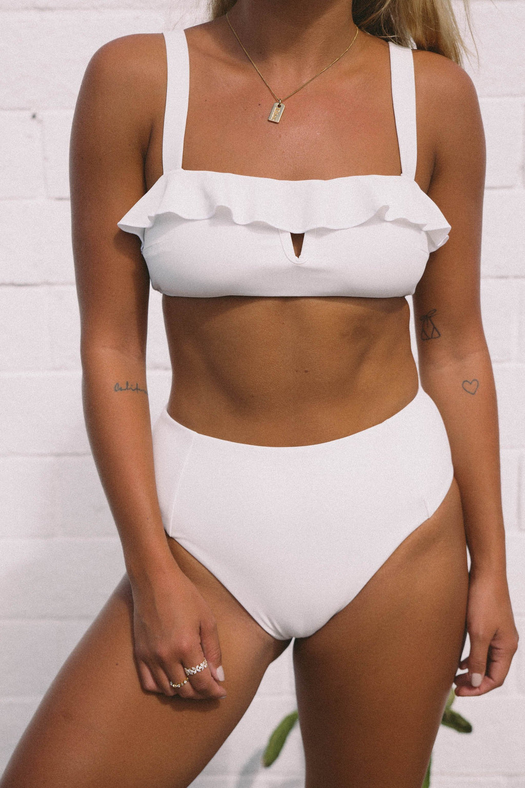 Ete Swimwear Ete X Matilda - Santa Cruz Bottoms (Shell) - Nomads Cove