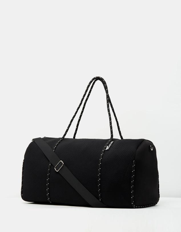 Gym Neoprene Bag in Black-Miz Casa & Co-Nomads Cove