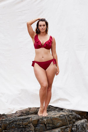 Marvell-Lane Marvell Lane - Tess Bikini Bottom in Babylon - Nomads Cove