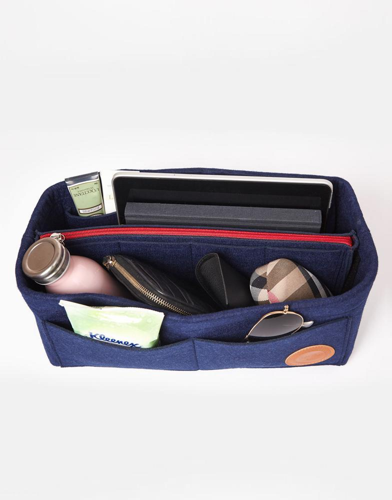 Miz Casa & Co Jasmine Bag Organiser Navy-Miz Casa & Co-Nomads Cove