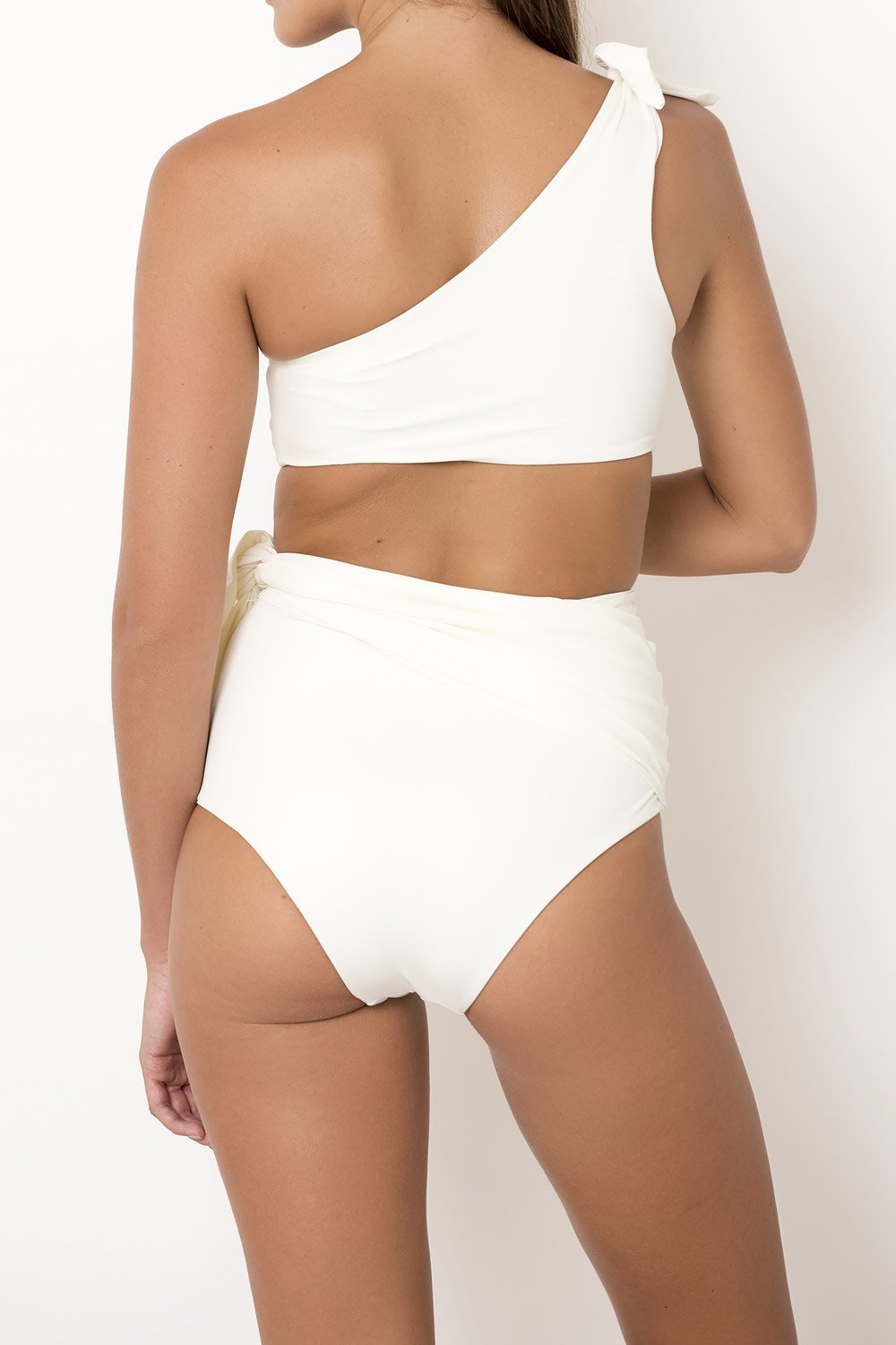 Palm - Bella Bottom in Ivory-Palm Swimwear-Nomads Cove