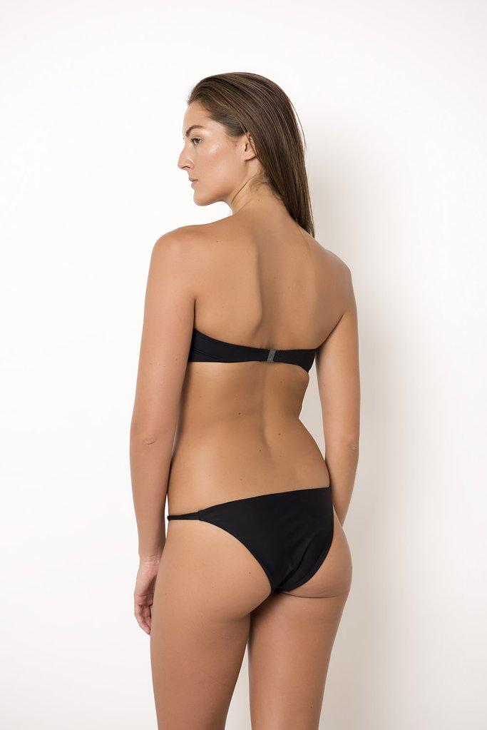 Palm - Black Nusa Top-Palm Swimwear-Nomads Cove
