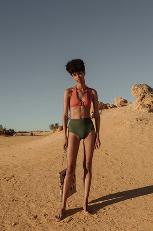 Palm - Edie Top in Dust-Palm Swimwear-Nomads Cove