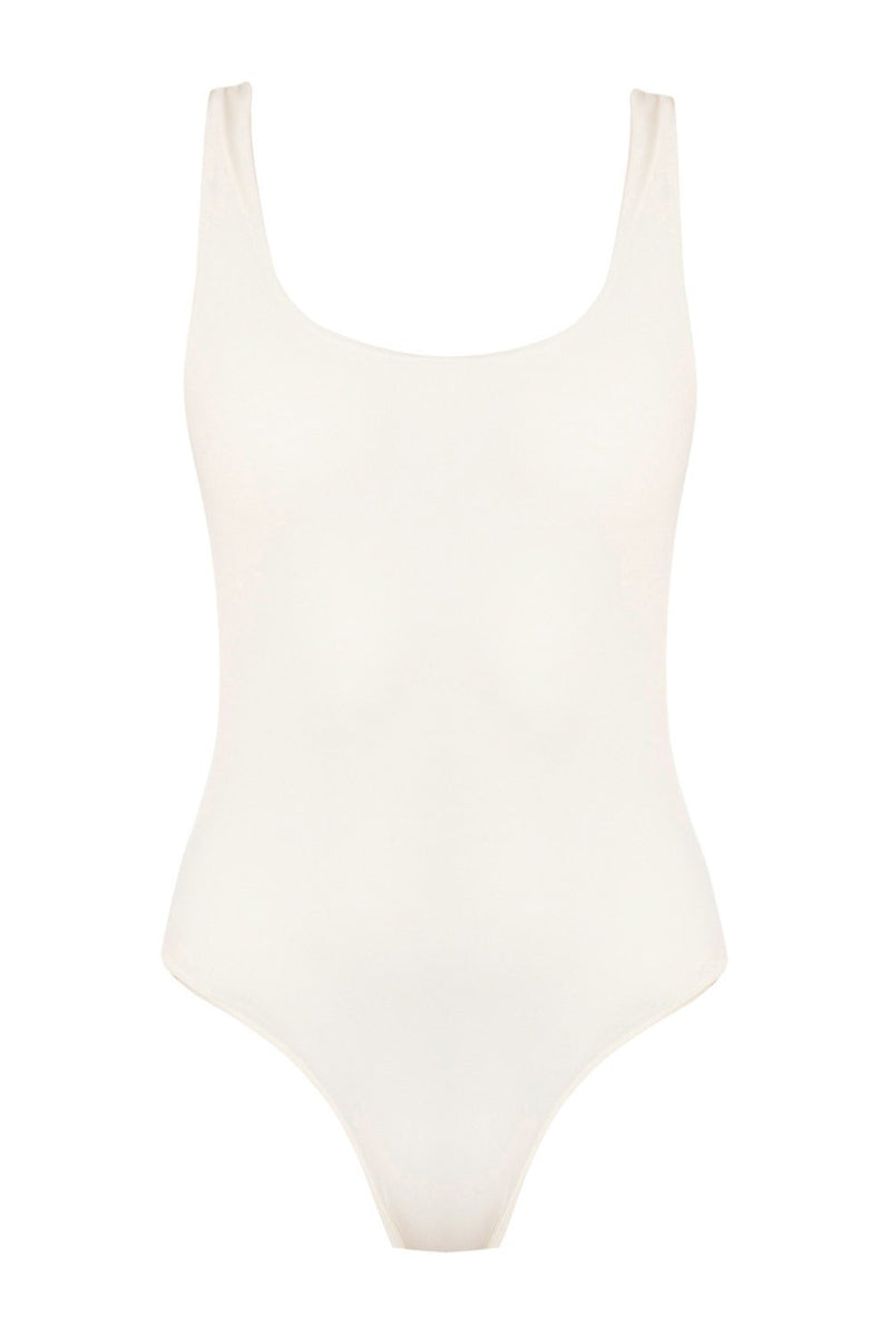 Palm - Maya Bodysuit Ivory-Palm Swimwear-Nomads Cove