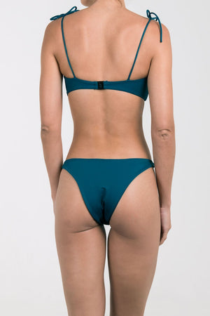 Palm - MIA Bottom Midnight Teal-Palm Swimwear-Nomads Cove