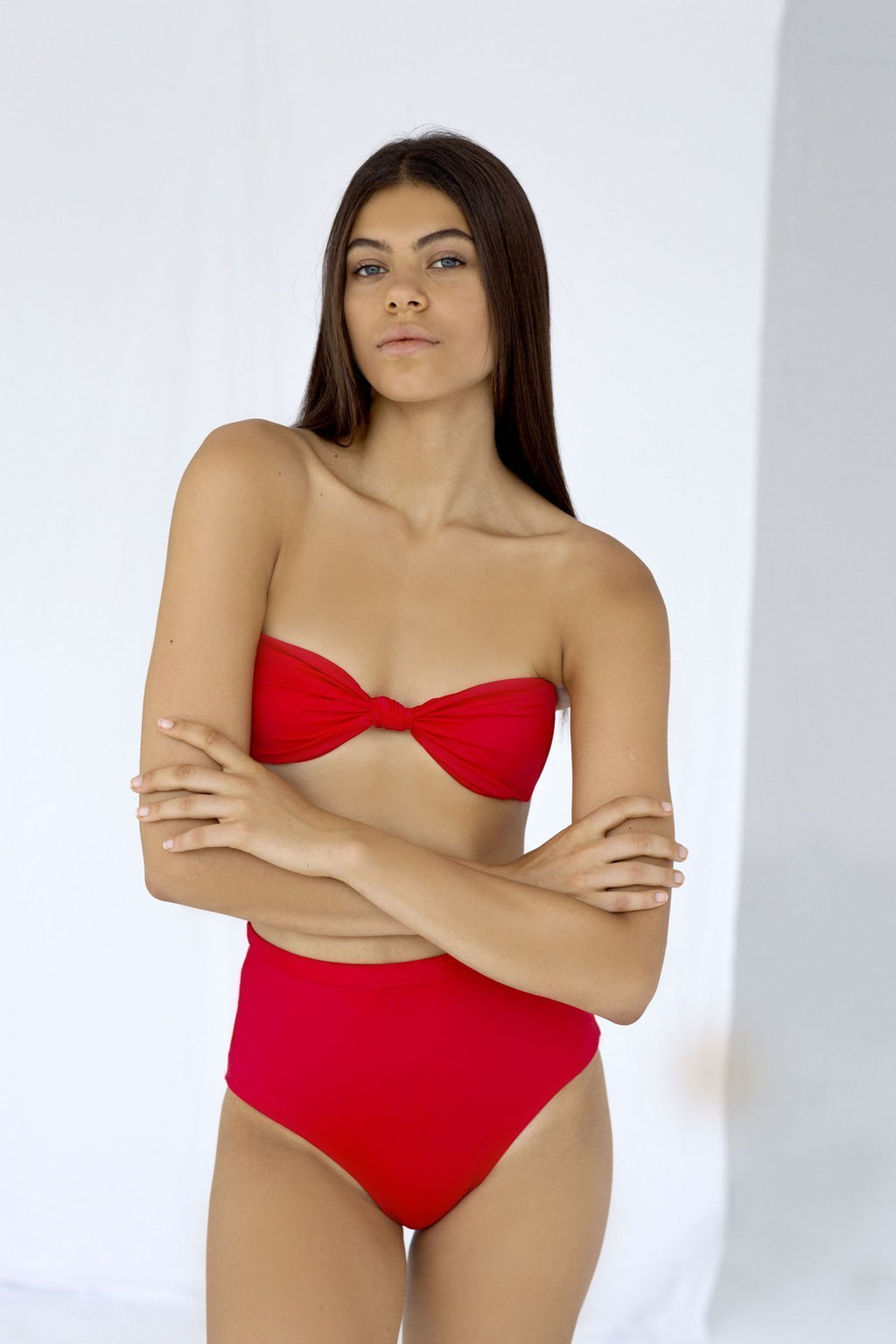 Palm - Mia Top in Rouge-Palm Swimwear-Nomads Cove