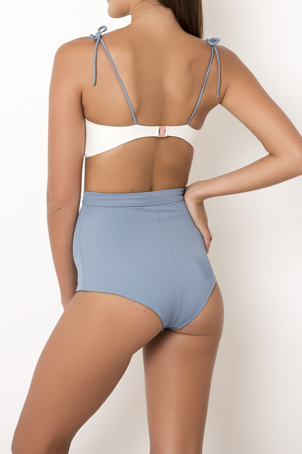 Palm - TALUA Bottom Ice Blue/Ivory-Palm Swimwear-Nomads Cove