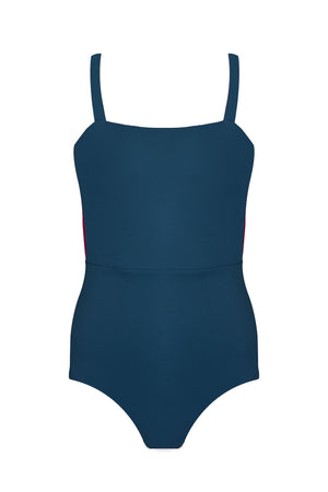 Palm Swimwear Palm - VALENTINE Bodysuit Midnight Teal - Nomads Cove