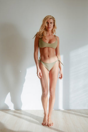 Rachel Disalvo - Bronte Top in Olive-Rachel Disalvo-Nomads Cove