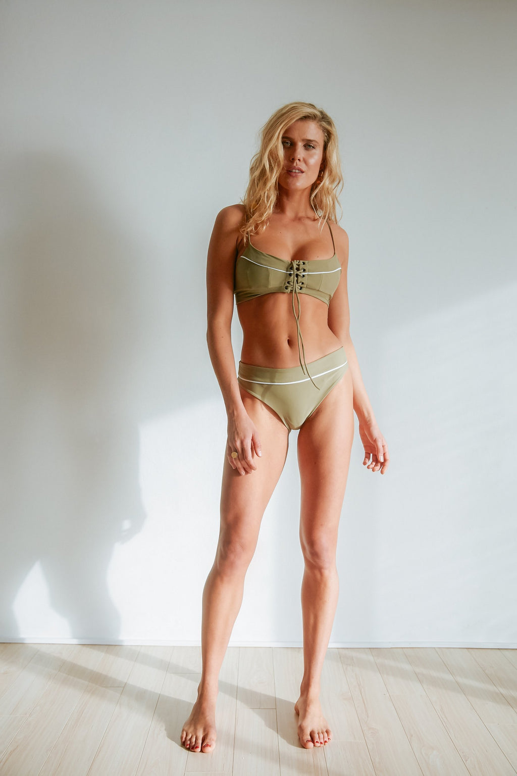 Rachel Disalvo - Minx Bottoms in Olive-Rachel Disalvo-Nomads Cove