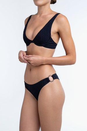 Sierra Top in Bio-black-Palm Swimwear-Nomads Cove