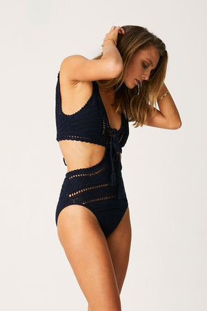 Suboo - Lace Front Cut Out One Piece-SUBOO-Nomads Cove