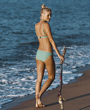 Tanliines - The Dawn Top in Mint-Tanliines-Nomads Cove