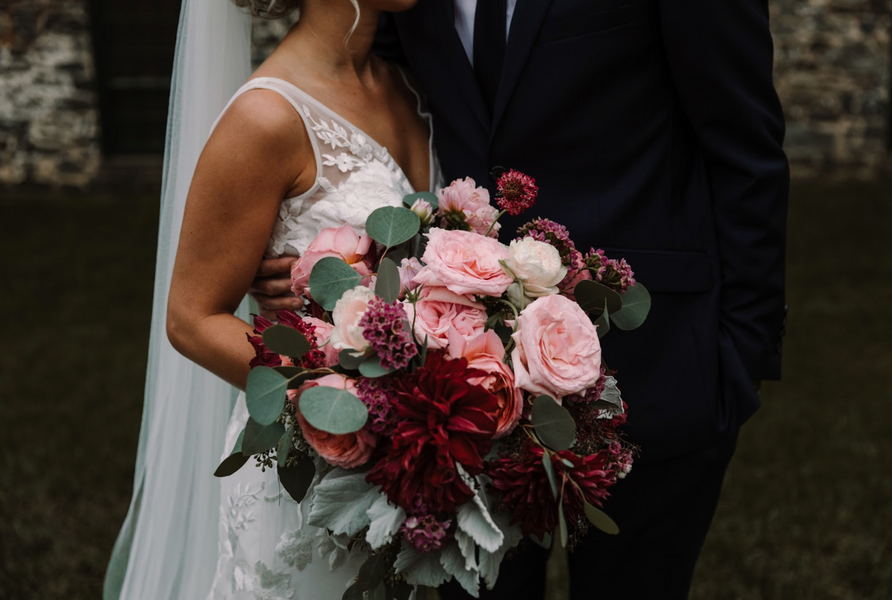Brittany & Kevin | Romantic Chic Wedding at The Mt. Washington Mill Dye House in Baltimore, MD