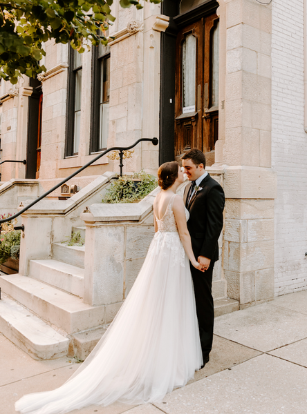 Juliet & Jeremy | Victorian Romance at Chase Court; Mt. Vernon's Gothic Revival Hideaway in Baltimore, MD