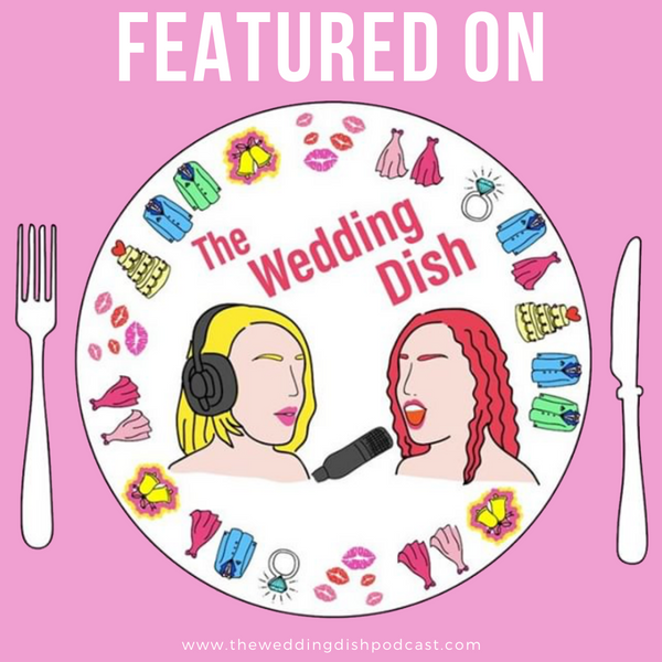 The Wedding Dish Features Lucky Penny Floral!