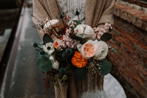 baltimore wedding florist, lucky penny floral, colorway no 4