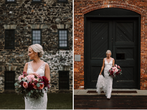 Baltimore Wedding Florist | Lucky Penny Floral | Premium Bouquet Colorway No. 3
