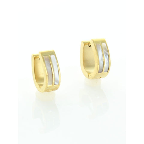 Gold Stainless Steel Earring