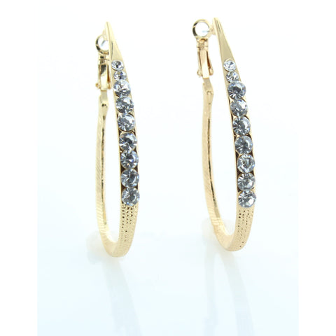 Stunning Medium Hoop Earring