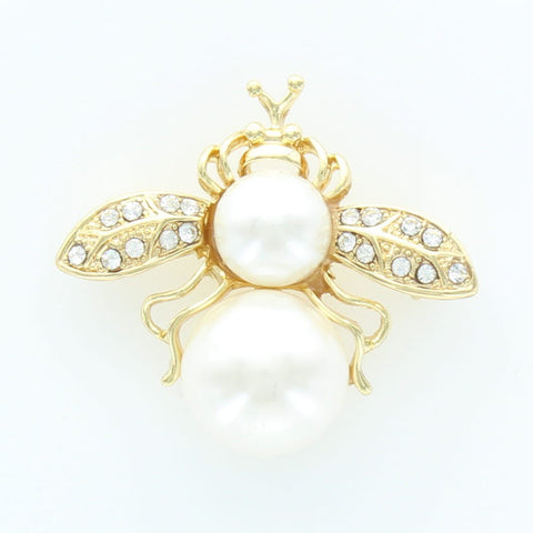 Bee With Pearl Pin