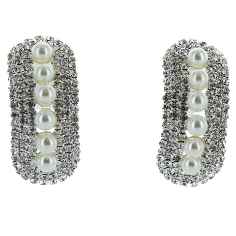 Glorious Pearl Clip Earring