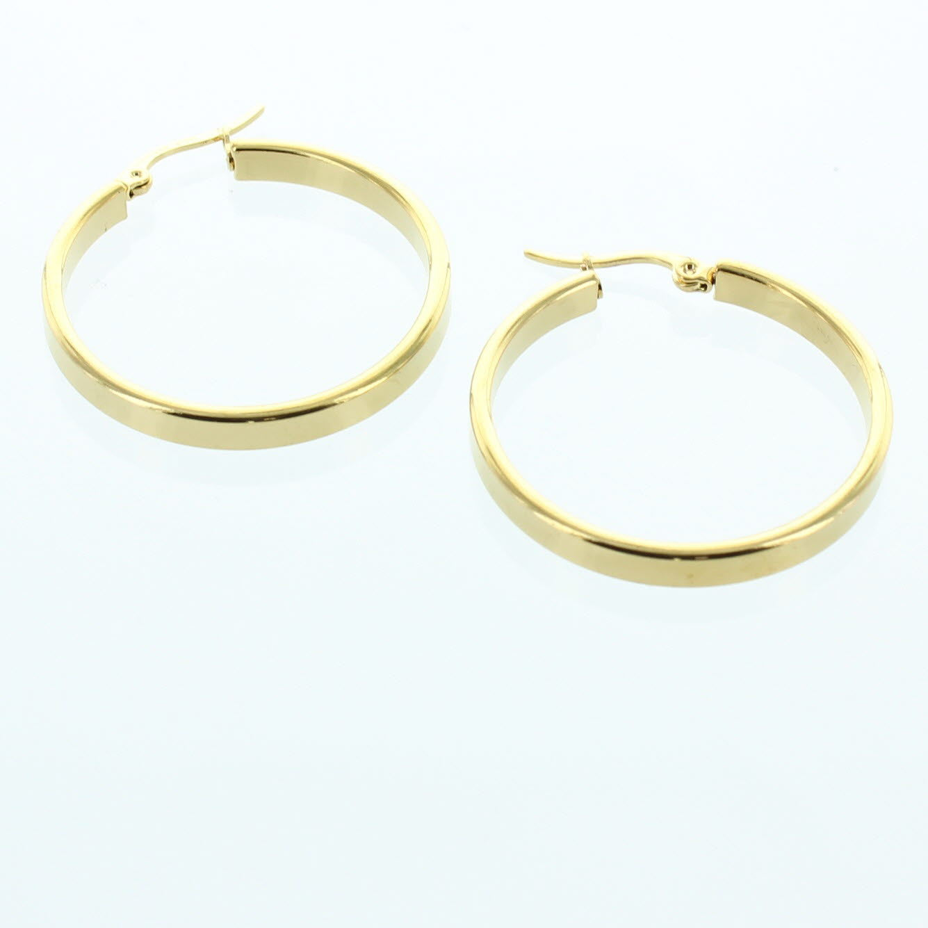Bold Stainless Steel Earring