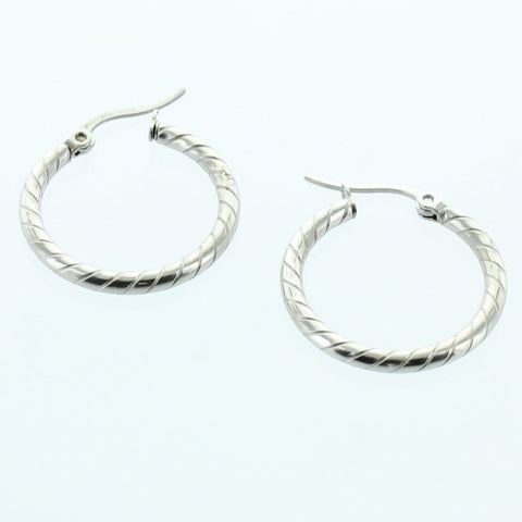 Classic Stainless Steel Earring