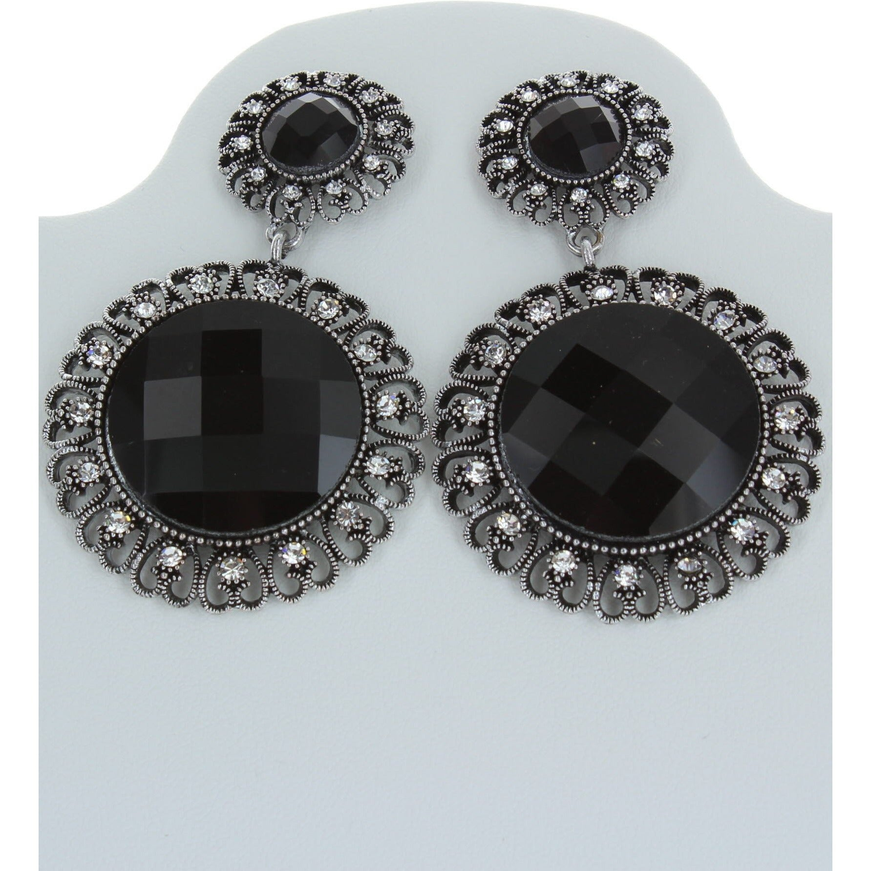 Statement Stone Earring