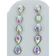 Tear Drop Long Earring