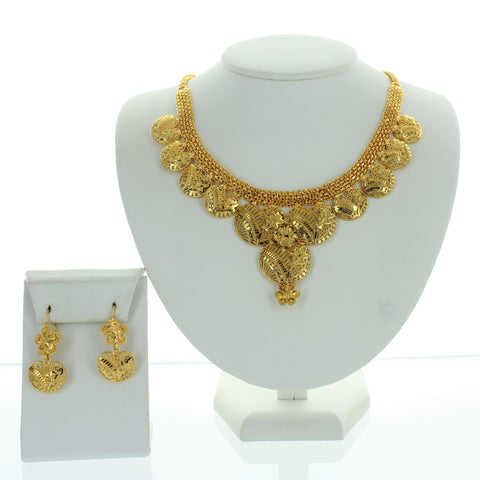 Seneca Glossy Necklace Set