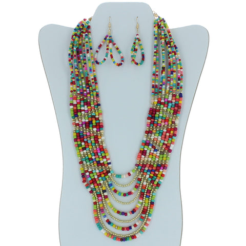 Classic Beaded Necklace