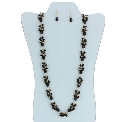 Glamorous Beaded Necklace