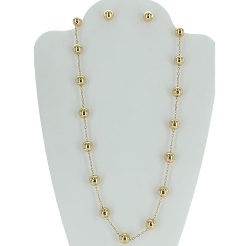Fashion Pearl Necklace Set