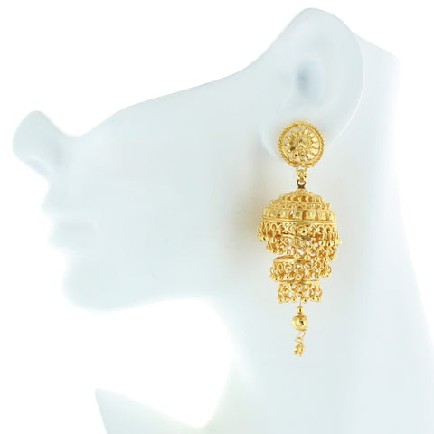 Stand Up Jhumka Earrings