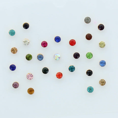 Pack of assorted bindis to add that final touch. Show off your style over and over again with these beautiful bindis.