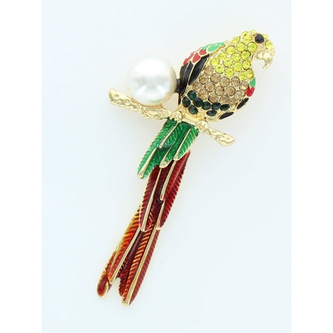 Multi Color Bird Pin